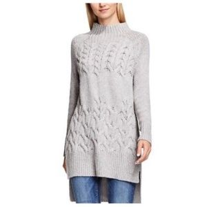 Turo by Vince Camuto Cable Knit Tunic Sweater